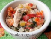 Миниатюра к статье Диетическое суфле из курицы и овощей