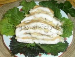 Миниатюра к статье Куриный рулет с сыром: удобное блюдо на скорую руку