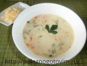 Миниатюра к статье Легкий рисовый суп с сыром