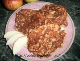 Миниатюра к статье Оладьи с яблоками