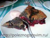 Миниатюра к статье Творожный пирог с вишней