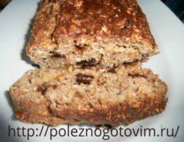 Миниатюра к статье Овсяный пирог с черносливом