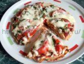Миниатюра к статье Овсяная ПП пицца  на сковороде