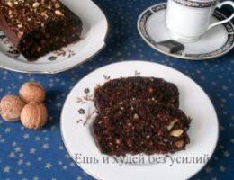 Миниатюра к статье Простой бисквит с какао на минералке