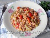 Миниатюра к статье Рис с грибами и овощами или постная паэлья