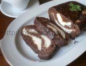 Миниатюра к статье Шоколадный десерт из творога с кокосовой стружкой