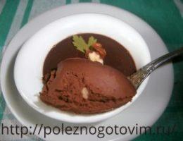 Миниатюра к статье Шоколадный крем Шантильи –  простой и быстрый десерт