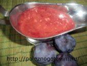 Миниатюра к статье Оригинальный чесночный соус из красной смородины