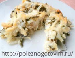 Миниатюра к статье Треска, запеченная в духовке со сметаной и сыром