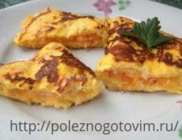 Миниатюра к статье Творожно-овсяный омлет с сыром – полезный и быстрый завтрак