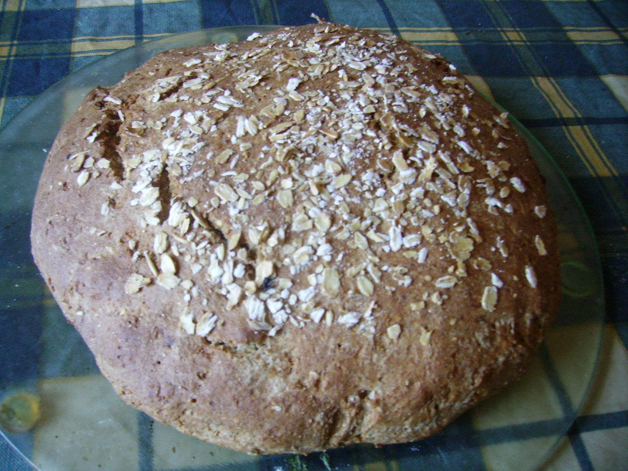 Миниатюра к статье Бездрожжевой домашний хлеб