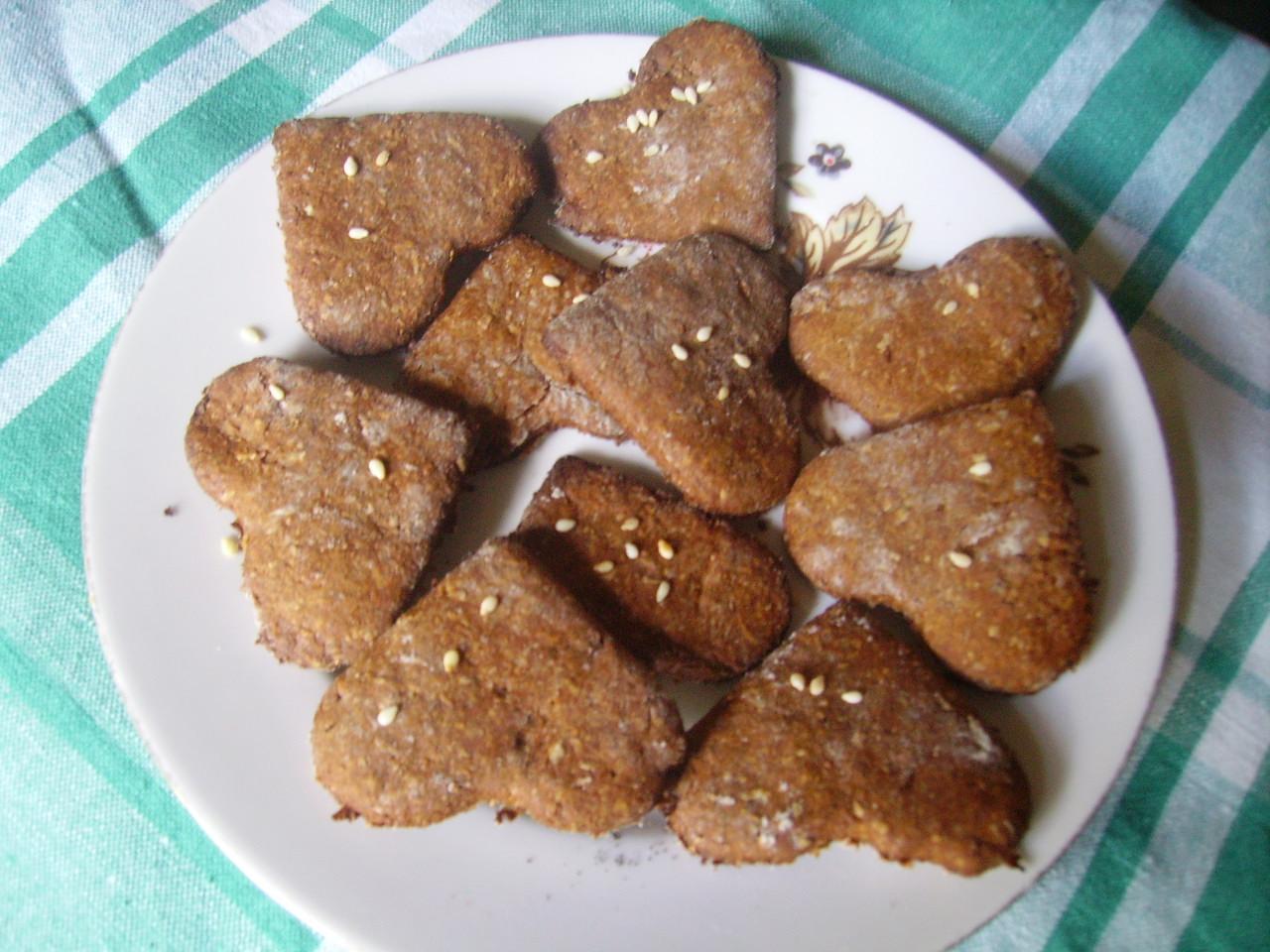 Миниатюра к статье Низкокалорийное печенье с отрубями