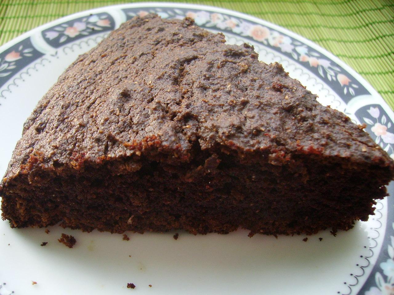 Миниатюра к статье Пирог манник шоколадный