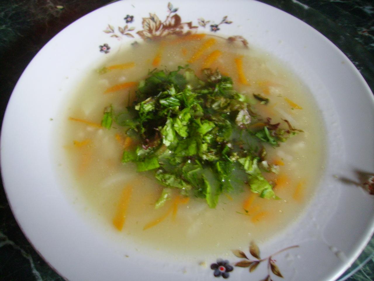 Простой вкусный суп