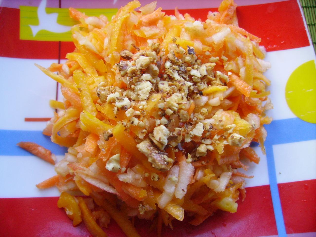 Миниатюра к статье Вкусный салат из тыквы для похудения