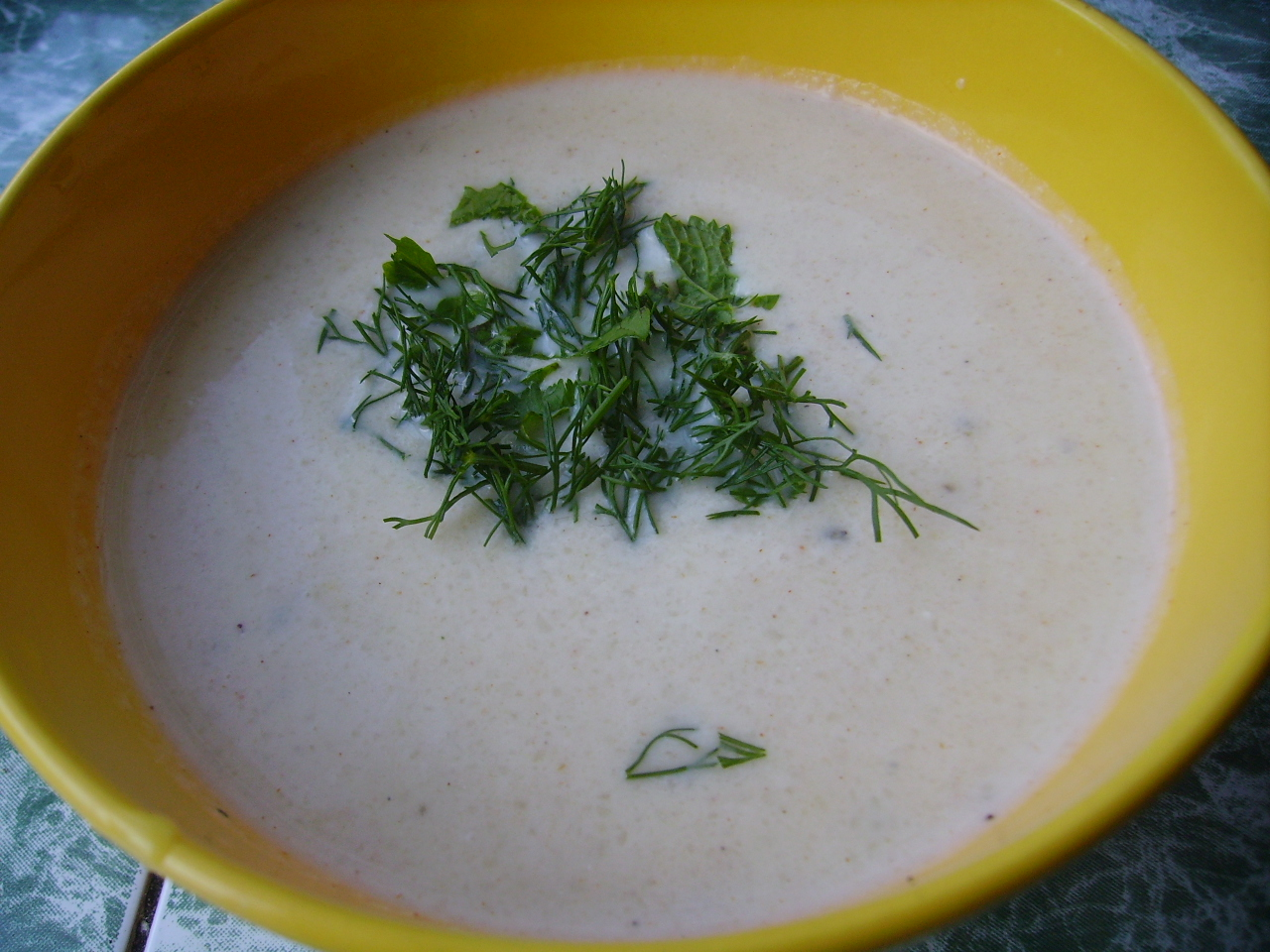 Миниатюра к статье Крем-суп из цветной капусты с творогом