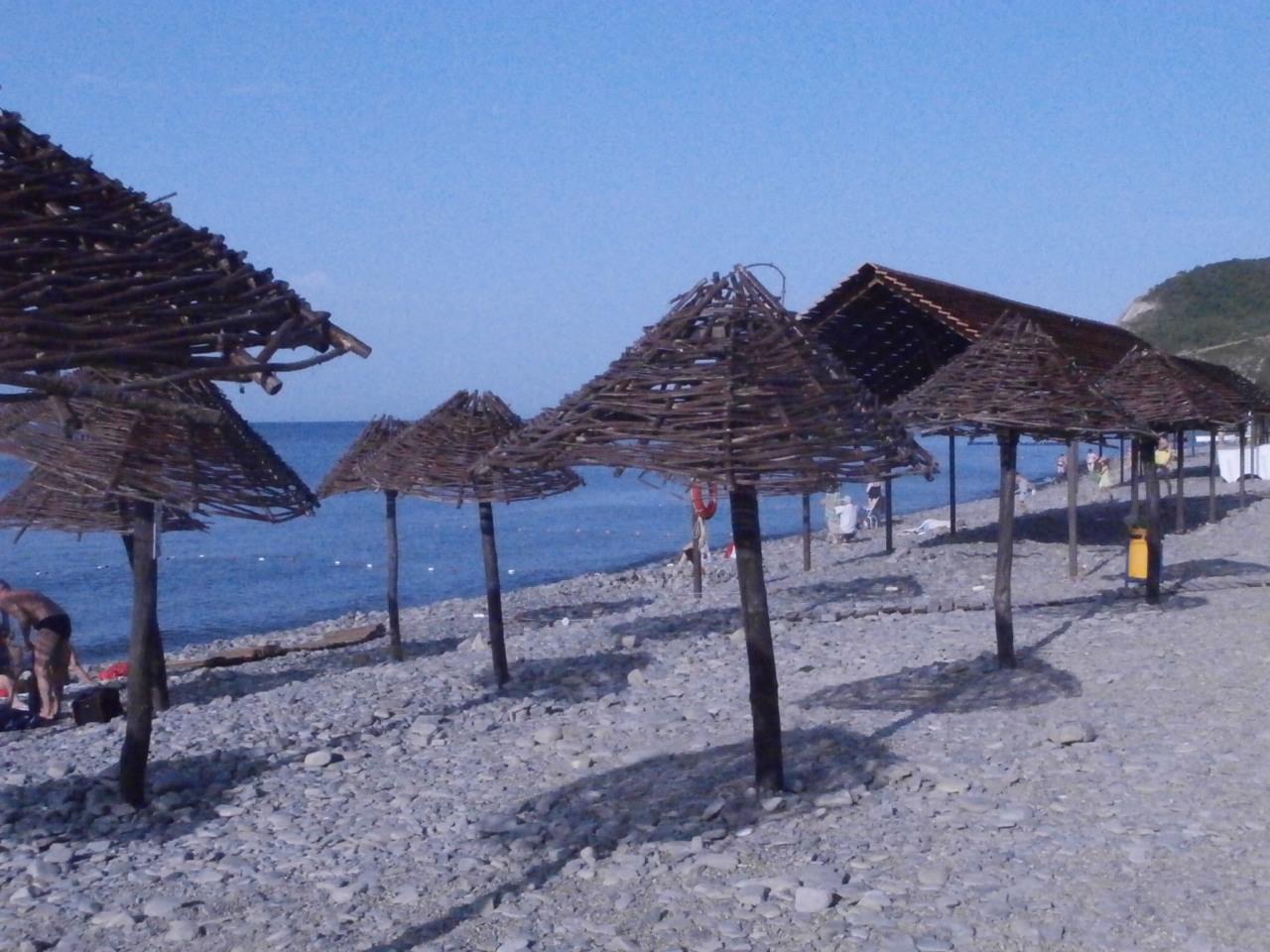 Пляж Южной Озереевки