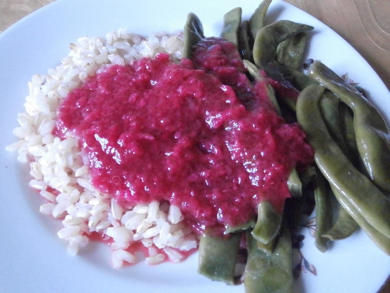 соус из красной смородины
