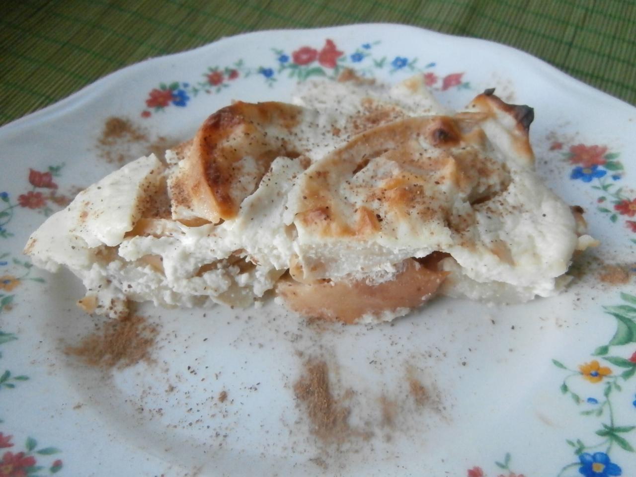 Миниатюра к статье Безумно вкусная творожно-яблочная запеканка