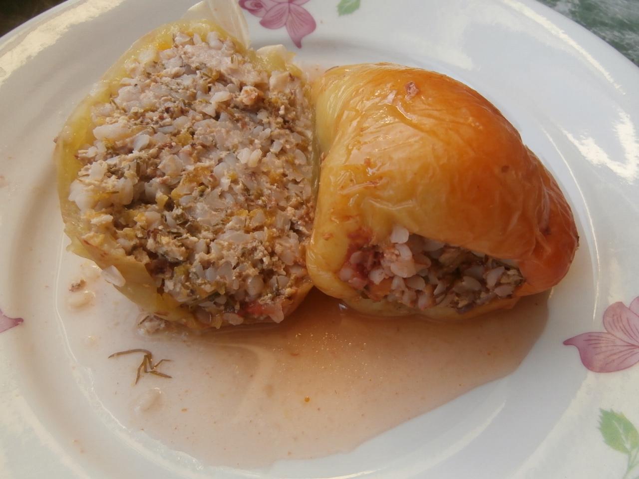 фаршированный перец с мясом