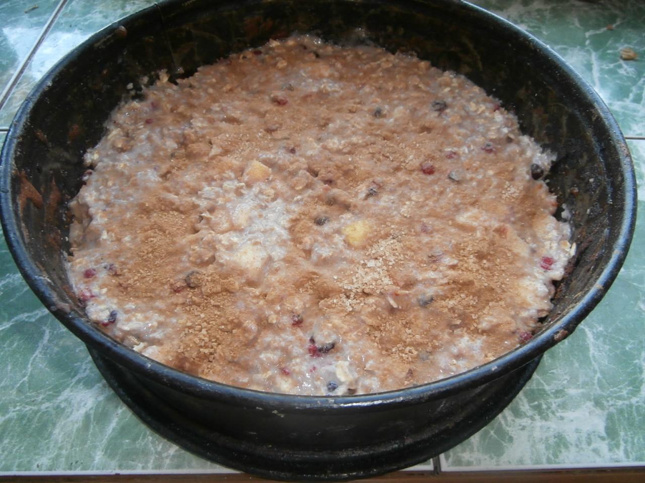 пирог с ягодами