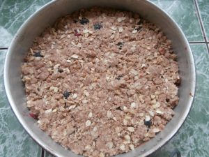 пирог из песочного теста с ягодой