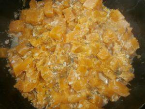 блюдо из тыквы