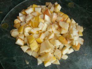 французские тосты с яблоками