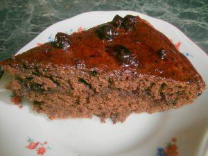 Миниатюра к статье Быстрый шоколадный пирог к чаю