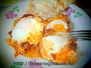 Миниатюра к статье Шакшука – вкусный завтрак из яиц