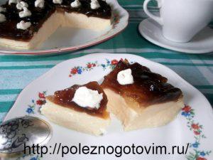 Миниатюра к статье Легкий торт без выпечки