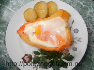 Миниатюра к статье Запеченное в перце яйцо