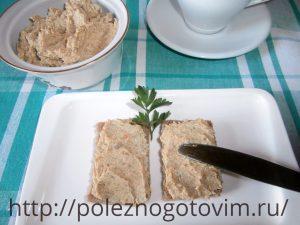 Миниатюра к статье Нежный  грибной паштет из шампиньонов