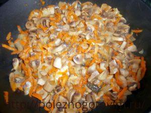 блюдо из грибов