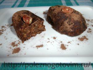 пирожное картошка из печенья