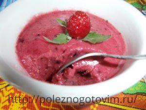 Миниатюра к статье Домашнее фруктовое сорбет – мороженое
