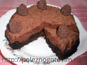 Миниатюра к статье Трюфельный торт – мусс