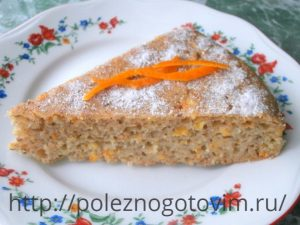 пирог с апельсином