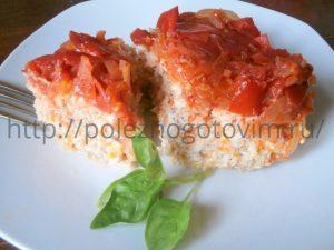 Миниатюра к статье Диетическая запеканка из рыбы в томатном маринаде