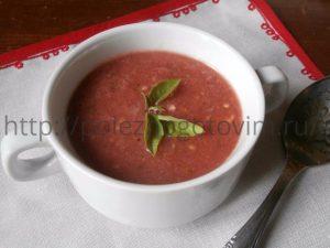 Миниатюра к статье Летний суп гаспачо с арбузом – интрига сезона