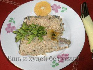 Миниатюра к статье Запеченный минтай в орехово-огуречном соусе – вкуснее не бывает!