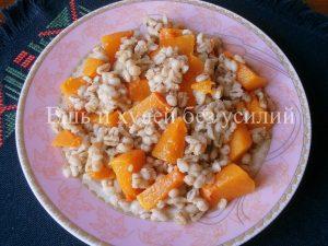 Миниатюра к статье Постное блюдо из перловки с тыквой – рецепт здорового питания