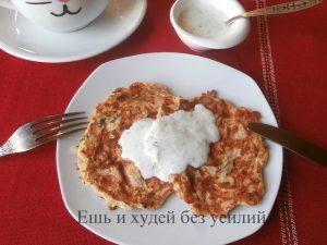 Миниатюра к статье Овсяно – сырные лепешки на кефире: вкусный ПП завтрак за 10 минут