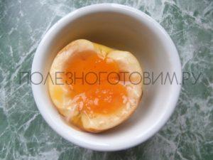 запеченное яйцо