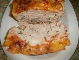 Миниатюра к статье Мясной хлеб с сыром