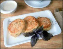 Миниатюра к статье Диетические сырники из кабачков: чудесный рецепт пп сырников для худеющих