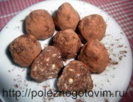 Миниатюра к статье Домашние шоколадные трюфели