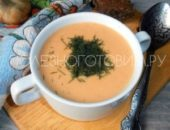 Миниатюра к статье Гороховый суп-пюре со сливками: простой, питательный и очень нежный…