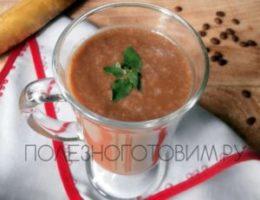 Миниатюра к статье Холодный кофе с мороженым и бананом: кофейный коктейль для жаркого дня