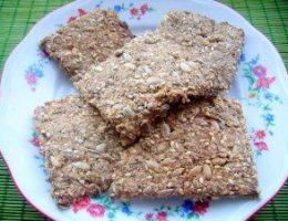 Миниатюра к статье Диетическое овсяное печенье или овсяные хлебцы
